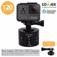 Godric Time Lapse 120 Min 360 Degree With Action Cam Tripod Mount for Xiaomi Yi , Brica B-PRO 5 AE AP etc
