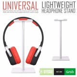 Jual Godric Universal Gantungan Hanger Headset Gaming Holder Headphone Stand Putih Import