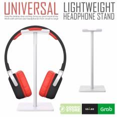 Ongkos Kirim Godric Universal Gantungan Hanger Headset Gaming Holder Headphone Stand Putih Di Dki Jakarta