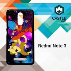 Gold Frieza vs goku super saiyan god Z2615 Casing HP Xiaomi Redmi Note 3 Custom Case Cover