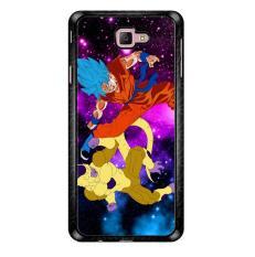 Gold Frieza Vs Goku Super Saiyan God Z2615 Samsung Galaxy J7 Prime Custom Hard Case