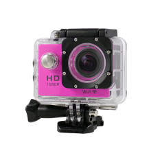 Kamera Aksi Goldfox SJ4000 Wifi Tahan Air Aksi Olahraga DV Digital Video Camera12MP (Violet)-Intl