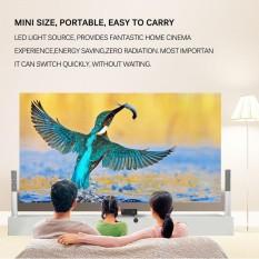 BAIK PRO HDMI Portable Mini LED Hiburan Proyektor Bioskop Rumah Steker AS-Internasional