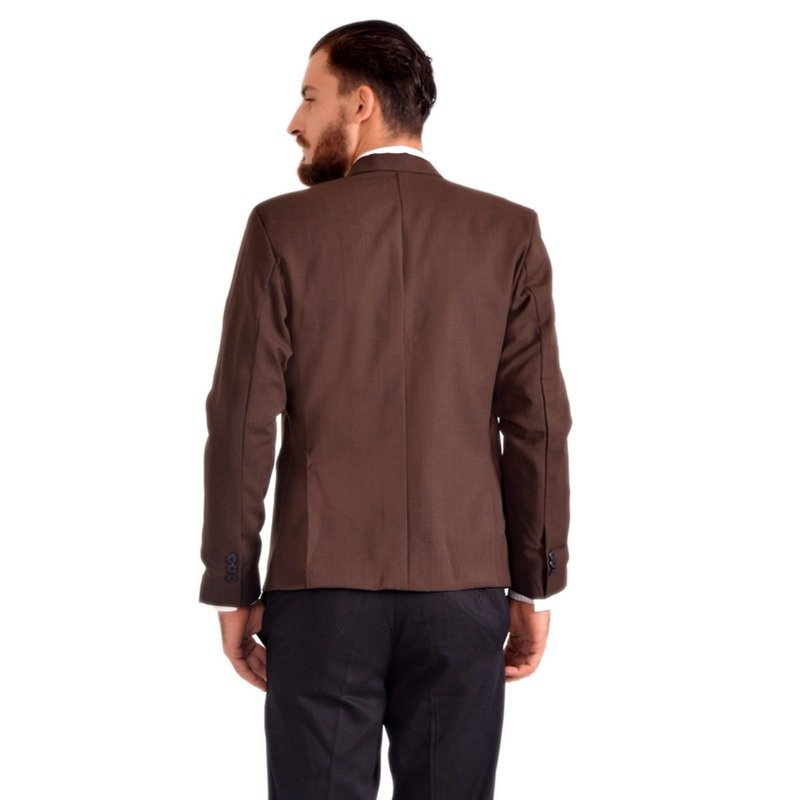 Jual Goog On Jas Pria Brown Skinny Suit Coklat Gd 63 Ori