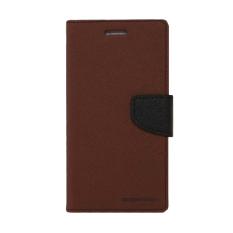 Goospery Fancy Diary LG G2 - Coklat/Hitam