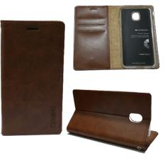 Goospery Mercury Sarung Kulit Leather Case Blue Moon Flip HP Samsung Galaxy J3 PRO - Coklat