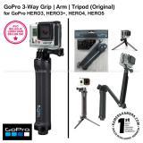 Promo Toko Gopro 3 Way Grip Arm Tripod 3 In 1 Mount Afaem 001 Original For Gopro Hero3 Hero3 Hero4 Hero5 Action Camera