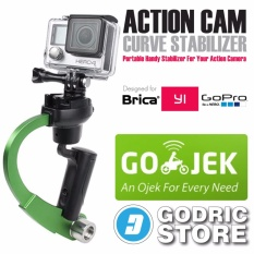 Jual Gopro Action Cam Plastic Curve Stabilizer For Gopro Brica B Pro Xiaomi Yi Hijau Online Di Dki Jakarta