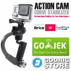 GoPro Action Cam Plastic Curve Stabilizer for GoPro, BRICA B-PRO & Xiaomi Yi