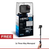 Beli Gopro Hero5 Black Three Way Monopod Gopro Asli
