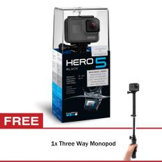 Harga Gopro Hero5 Black Three Way Monopod Dan Spesifikasinya