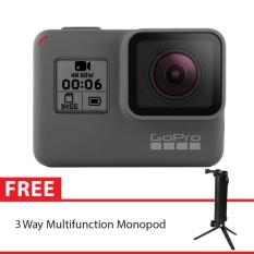 GoPro Hero6 / GoPro Hero 6 Black + 3 Way Monopod