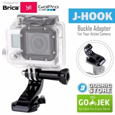 GoPro J-Hook Adapter Mount w/ Thumb Knob Screw for GOPRO, BRICA B-PRO & Xiaomi Yi Camera