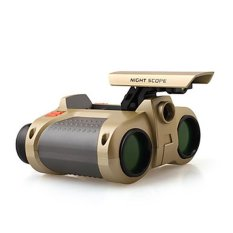 GoScope Teropong - Night Scope 4 x 30mm Binoculars with Pop-Up Light