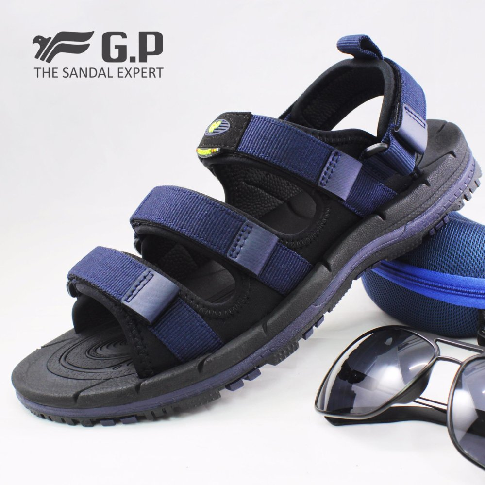 Toko Gp Gold Pigeon Sandal Gunung Pria Tissage Navy Blue G7656M 20 Termurah Jawa Timur