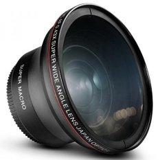 GPL/52mm 0.43x Altura Foto Profesional HD Wide Angle Lens (Bagian Macro) untuk NIKON D5300 D5200 D5100 D3300 D3200 D3100 D3000 Kamera DSLR/kapal dari AMERIKA SERIKAT-Intl