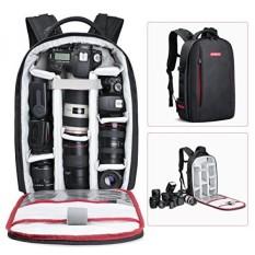 GPL/Beschoi Kamera DSLR Ransel Anti-Air Kamera Tas untuk Sony Canon Nikon Olympus SLR/DSLR Kamera, lensa dan Aksesori, Hitam/Dikirim dari Amerika Serikat-Internasional