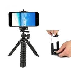 GPL/Fleksibel Cell Phone Tripod, DIGIANT Mini IPhone Tripod dengan Pelepasan Rilis Cepat, Tingkat Gelembung untuk SEMUA GOPRO HERO Kamera dengan Telepon Tripod Mount untuk IPhone, Galaxy, Samsung, Dll/kapal dari AMERIKA SERIKAT-Intl