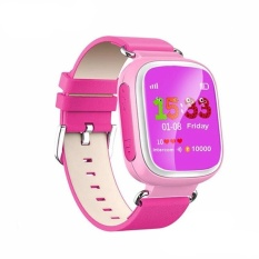 GPS Tracker Smart Watch untuk Kids Q80 SOS Call Anti Lost Reminderfitness Wearable Perangkat Hadiah Bayi Android Ponsel PK Q60 Q90 Q50P-Intl