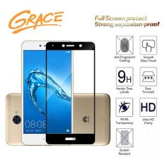Grace Huawei Y7 Prime - 2.5D Full Screen Tempered Glass - Lis Hitam