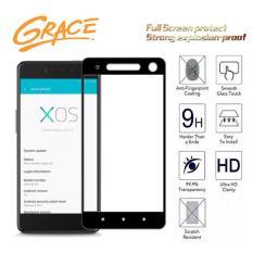 Grace Infinix S2 Pro / X522 - 2.5D Full Screen Tempered Glass - Lis Hitam