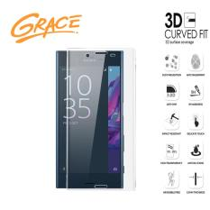 Grace Sony Xperia X Compact 4.6 inch / F5321 Tempered Glass - 3D Curved Full Cover - Clear