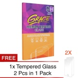 Promo Grace Tempered Glass For Lenovo Vibe Shot 2 5D Hq 2X Set Buy1 Get1 Free