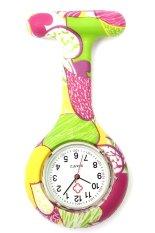 Harga Hemat Gracefulvara Permen Warna Pocket Nurse Watch Ungu Hijau