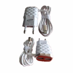 Beli Grade Aa 888 2 1A 15W Smart Fast Charger With 3 Outputs Online
