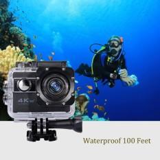 Grade AA Action Camera 4K+ UltraHD - 16MP - WIFI - Hitam