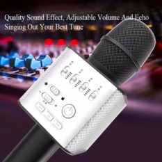 GRADE AA MIC Q9 WIRELESS BLUETOOTH SMULE KARAOKE SPEAKER MICROPHONE TERBARU