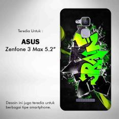 Graffiti Street Art 1 Casing Custom Hardcase Asus Zenfone 3 Max 5.2 Inch ZC520TL Case Cover