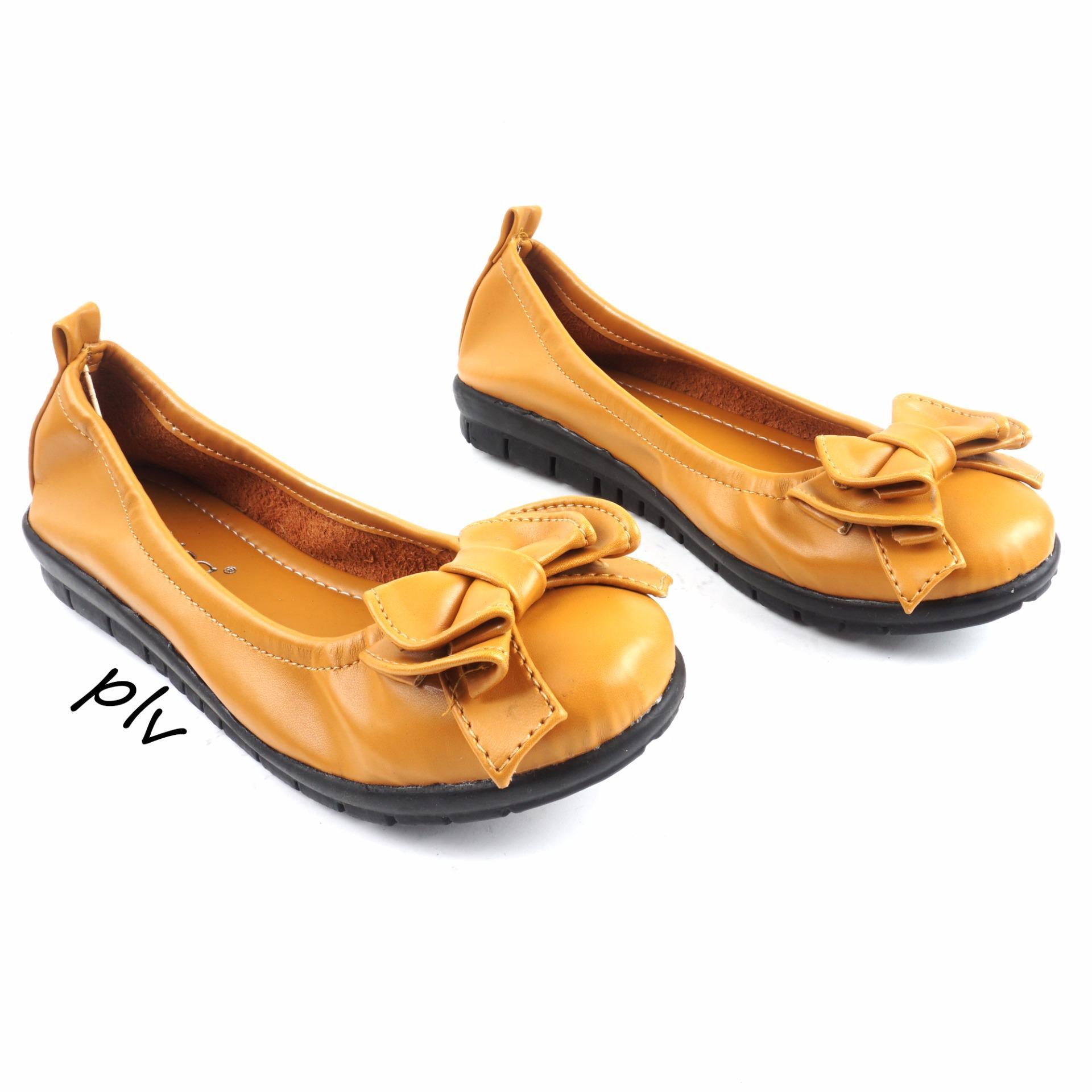 Gratica Sepatu Flat Shoes AS31 - Kunyit