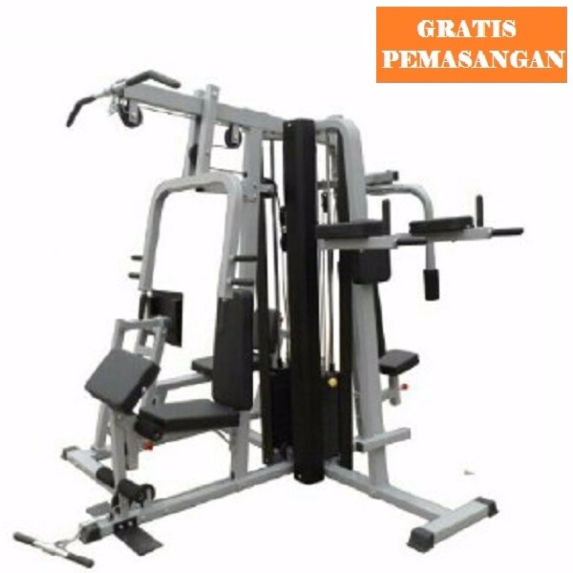 Gratis Ongkir Jabodetabek-Karawang-Serang  Sports Home Gym 4 Sisi Grey