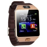 Harga Great Smartwatch Dz09 Bluetooth With Sim Card And Micro Sd Slot For Android Smartphone Brown Great Baru