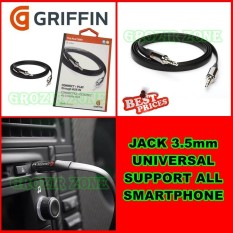Griffin Kabel Aux Universal Jack 3.5mm / Griffin Aux Cable [ grozir zone ]