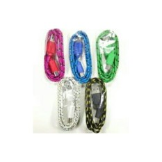 Griyaazza - Kabel Data Kabel Charger Motif Tali Sepatu Samsung Nokia Asus Advan Polytron - Multi Warna