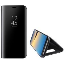 Grocery Kulit Elegan Clear Smart View Jendela Cermin Perlindungan Menyeluruh Phone Case untuk Samsung J7 (2017) -Intl