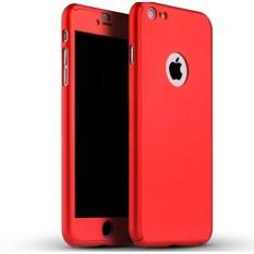 GROSIR CASE 360 HARDCASE FULL BODY PLUS TEMPERED GLASS IPHONE 6PLUS 6S PLUS