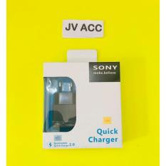 GROSIR CHARGER CASAN SONY XPERIA Z1 Z2 Z3 MINI Z4 ORIGINAL EP880 OR EP881