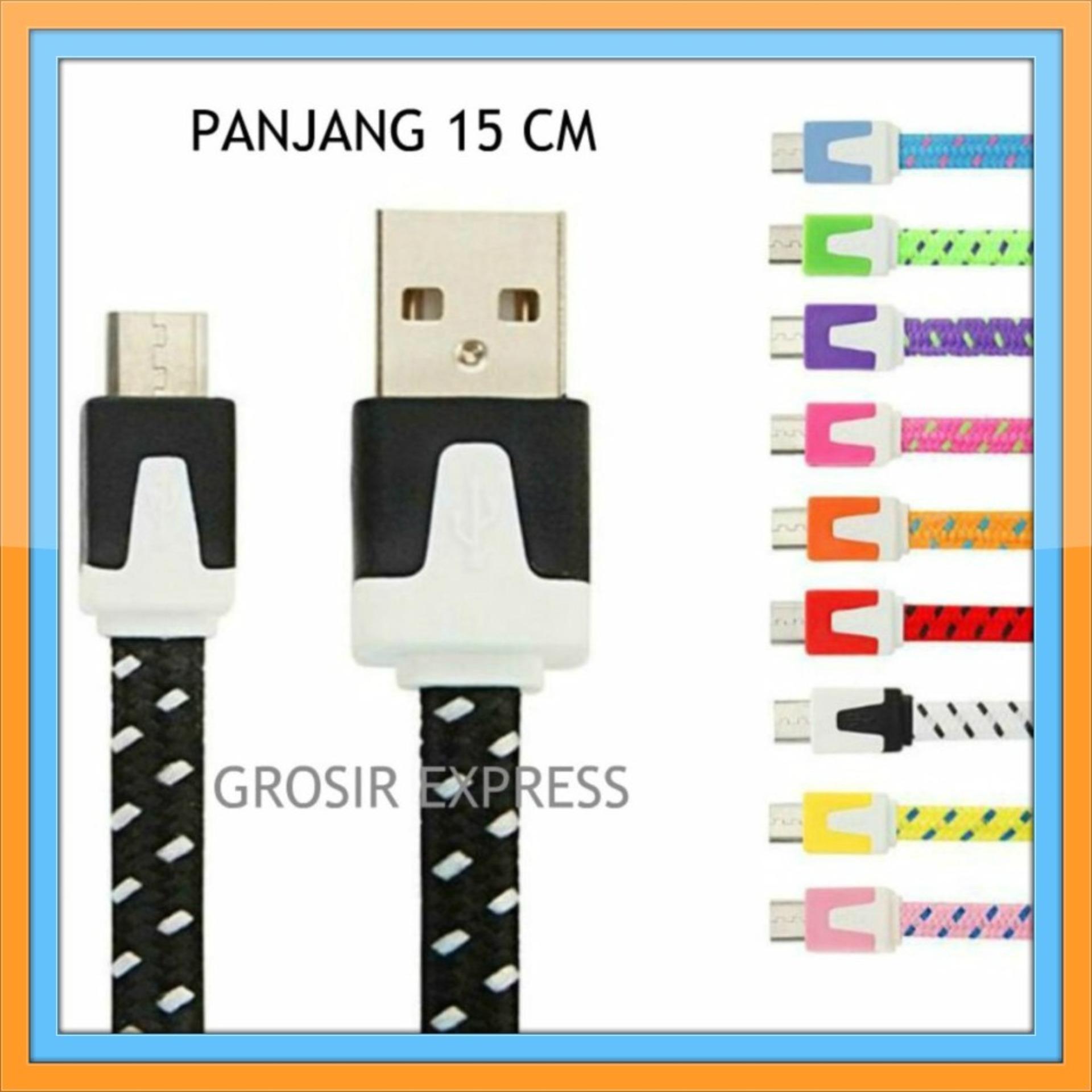 Jual Kabel Data Flat Murah Garansi Dan Berkualitas Id Store Aux 35mm Tali Sepatu Rp 8500