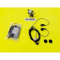 GROSIR Sony Xperia Hansfree / Headset / Bass Earbud MH-410C Black Universal Gadget