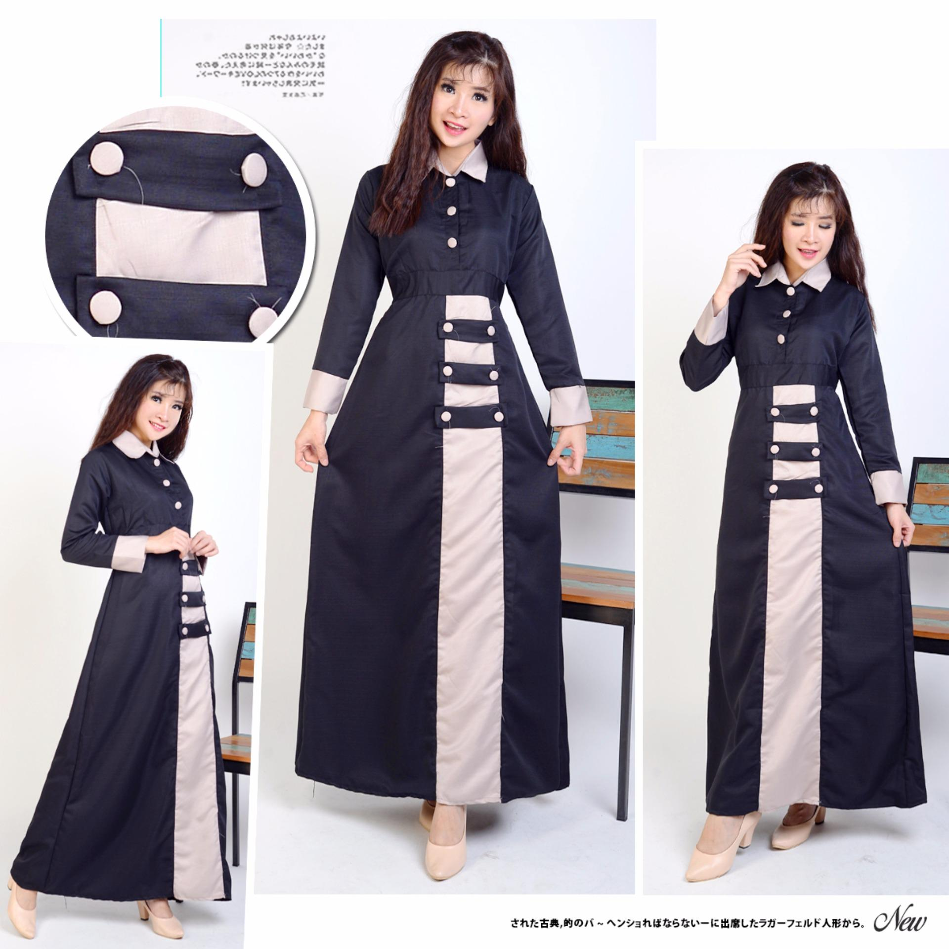 AK 372 Karina Syarii Black bergo Akiko fashion. Beli Baju Muslim Syarii OnlineStoreIn Cloud Source