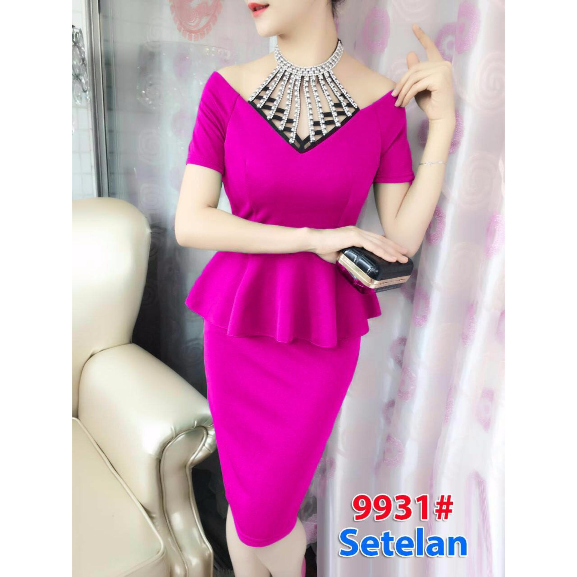 Jual Gsd Stelan Mini Dress Import Dress Pesta Dress Import 9931 Fanta Online