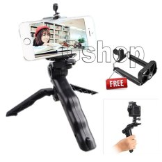 Gshop Mini Tripod Multi Fungsi For Smartphone & GoPro HERO 4 / 3 / 3+ / SJ4000 / SJ5000 / SJ6000 Sports DV