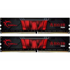 GSkill Memory PC DDR4 Aegis 16GB (2x8GB) PC19200 2400Mhz - Model F4-2400C17D-16GIS - Hitam