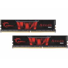 GSkill Memory PC DDR4 Aegis 8GB (4GBx2) PC19200 2400 Mhz - Model F4-2400C17D-8GIS - Hitam
