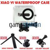 Toko Gstation Waterproof Case For Xiaomi Yi Action Camera Tripod Mount Helmet Mount Mini Tripod White Dki Jakarta