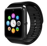 Iklan Gt08 Jam Sinkronisasi Notifier Jam Pintar Dengan Kartu Sim Untuk Ios Android Hitam