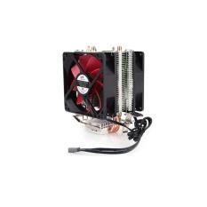 GTFS CPU Quiet Cooling Dual Fan Radiator Heatsink Master untuk Intel AMD Musim Panas-Intl